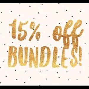 15% off bundles of 2 or more